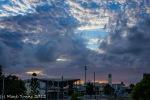 Sunset over Mackay City