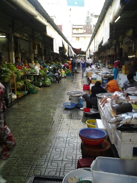 The markets in HCMC