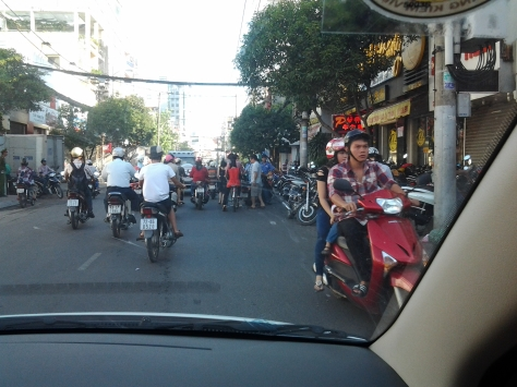 Chaos in Ho Chi Minh City