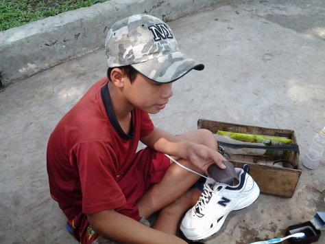 Shoe Cleaning in Saigon